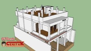 desain rumah 4 kamar tidur 1 mushola