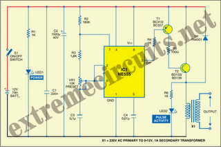 Electric Fence Electric Fence Charger Schematic