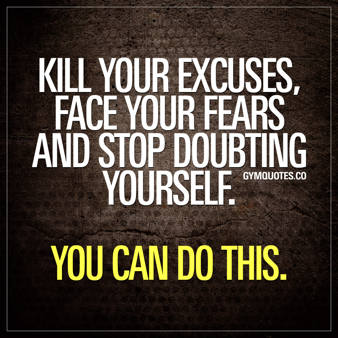 Believe In Yourself Quotes From Gym Quotes