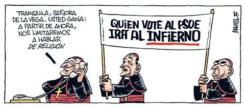 Quem Votar PSOE Vai para o Inferno