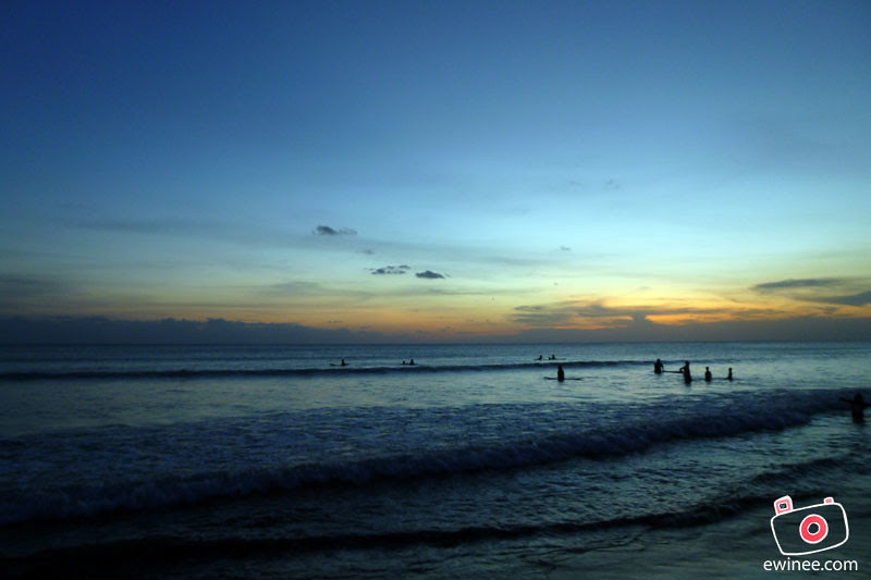 SUNSET-IN-BALI-KUTA-BEACH