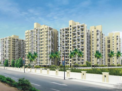 Darode Jog's Westside-County Pimple Gurav Pune 411 027: 1.5 BHK, 2 BHK, 3 BHK Flats