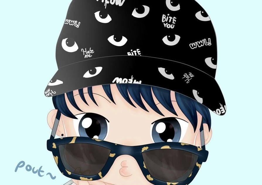 Anime Gambar Kartun Lelaki Pakai Topi - tourolouco