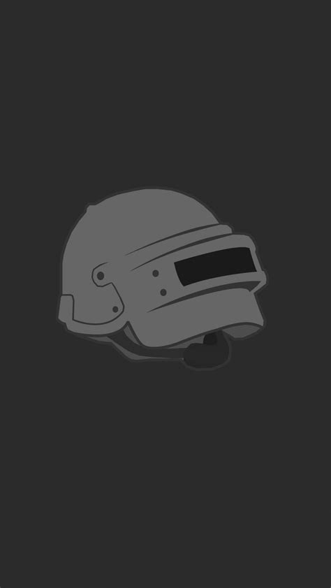 pubg helmet logo minimal wallpaper video game