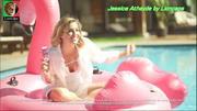 Jessica Athayde sensual em anuncio de TV
