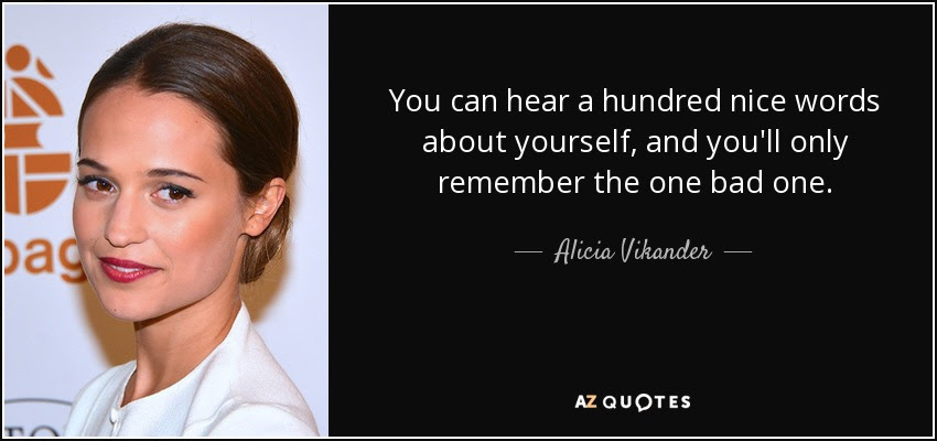TOP 23 QUOTES BY ALICIA VIKANDER | A-Z Quotes