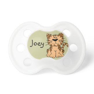 Cute Personalized Cat Pacifier