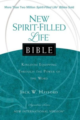 NIV New Spirit Filled Life Bible, Hardcover  -     By: Jack Hayford