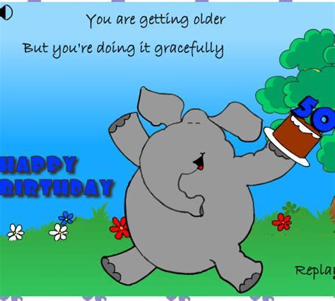 50 You Are Aging Gracefully. Free Milestones eCards