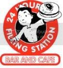 Filling Station Bar and Cafe Graphic