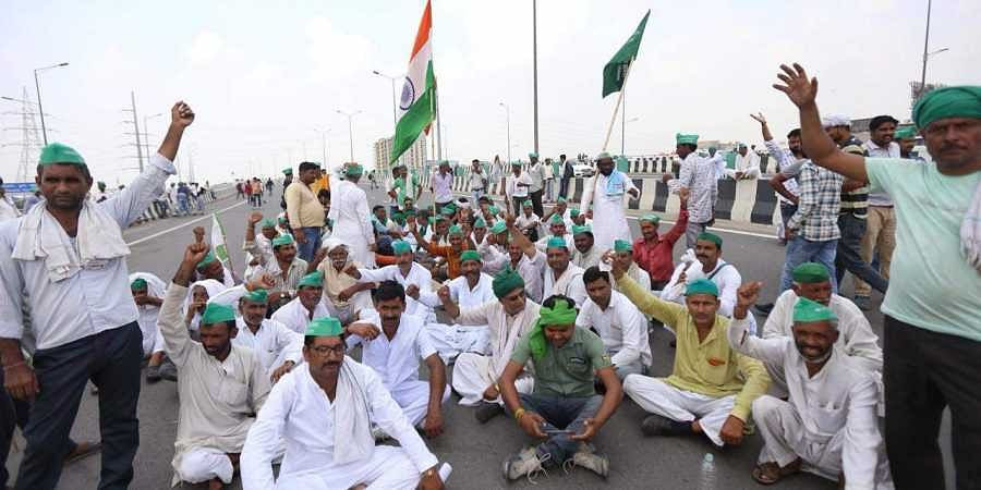 Image result for Thousands Of UP Farmers In Delhi For Protest