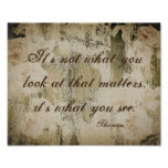 inspirational quote poster rustic shabby chic