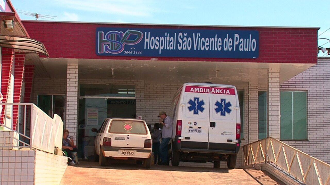 Resultado de imagem para Hospital São Vicente Pitanga