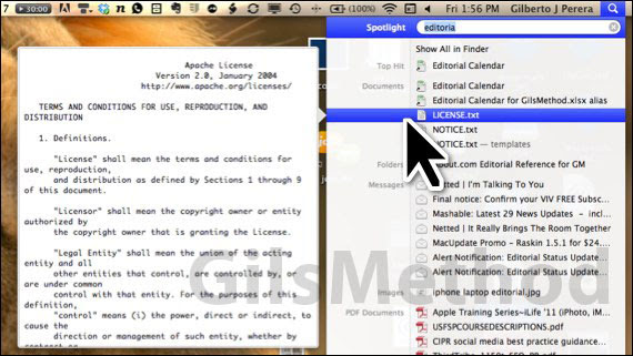 spotlight file location lion How to Show File Location Using Spotlight in Lion