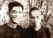 Vợ chồng cố TBT Nguyễn Văn linh - Hồ Thị Huệ thời trẻ.