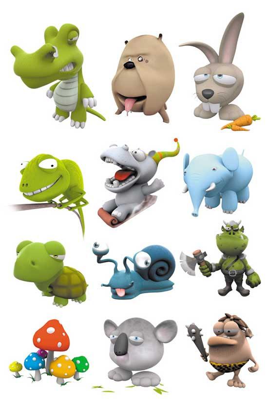 80 Gambar Hewan Dan Kartun HD
