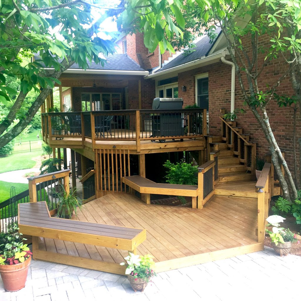 Take a seat! Garden Benches by American Deck & Sunroom