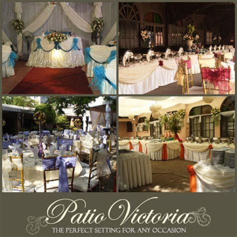 Patio Victoria   Metro Manila Garden Wedding   Metro