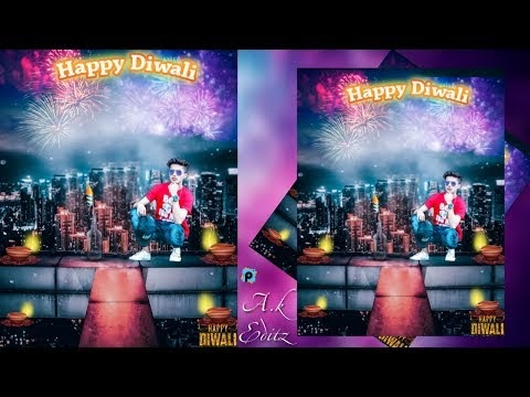 Diwali Special,  Brighten Lights, Picsart Editing  Happy Diwali Editing