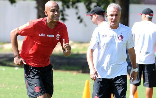 Alex silva, Treino Flamengo (Foto: Alexandre Vidal / Flaimagem)