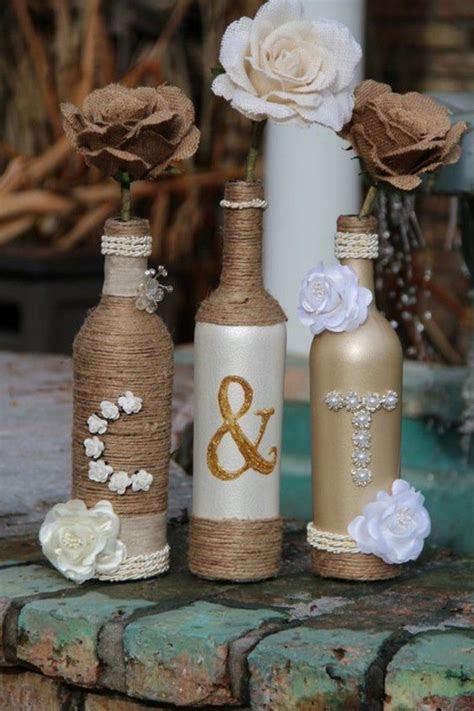 wedding ideas recycling dekoideen wedding decoration glass