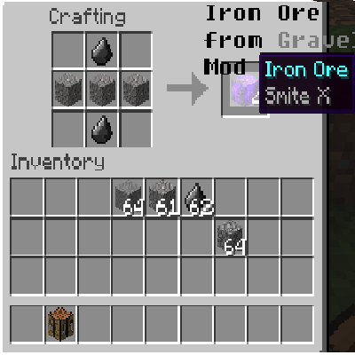 Iron Ore from Gravel Mod 1.8 - Minecraft Mods