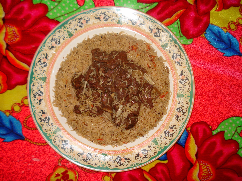 how to make afghani pulao