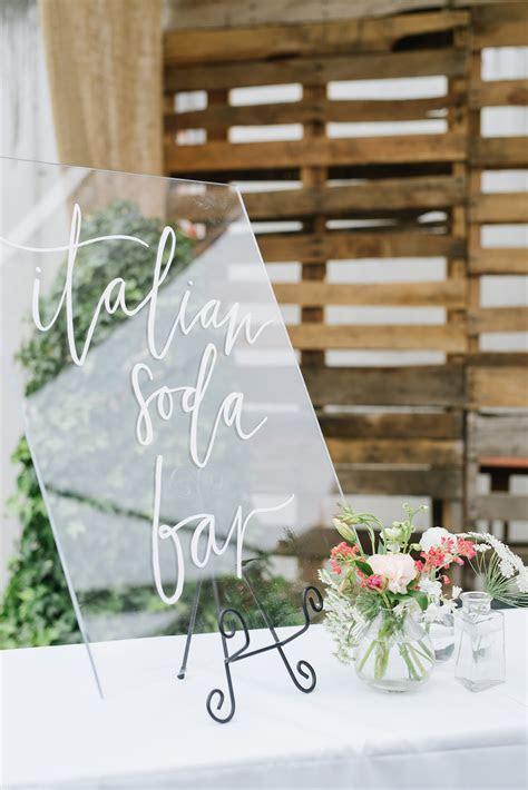 Acrylic Wedding Details and Inspiration