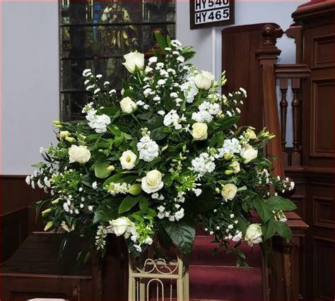 Large Wedding Flower Arrangements For Church, Beautiful