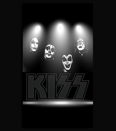 Kiss Band HD Wallpaper For Your iPhone 6