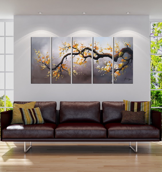 China Hot Sale Modern Art Paintings for Living Room ...