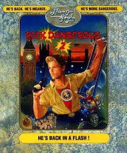 Rick Dangerous 2 - Commodore 64