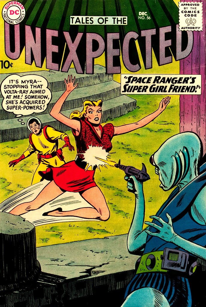 Tales of the Unexpected #56 (DC, 1960) Bob Brown cover
