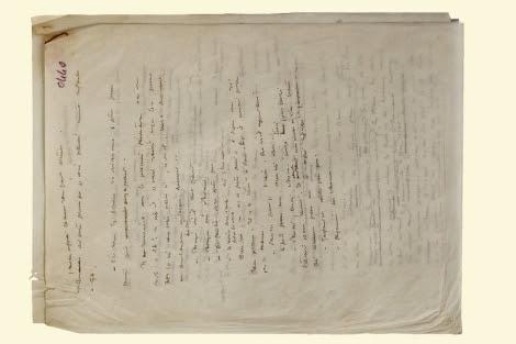 El nuevo manuscrito de 'El Principito'. | Efe