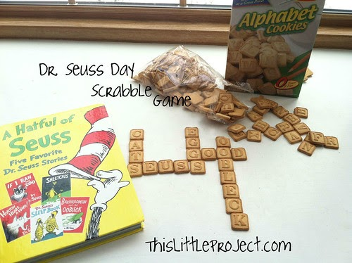 This Little Project Dr Seuss Day Edible Scrabble Game