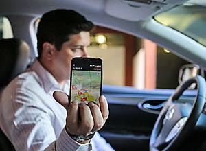 Motorista do Uber parou de usar terno e gravata