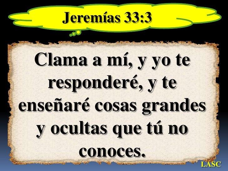 Resultado de imagen para jeremias 33 3
