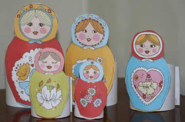 printable matryoshka doll craft