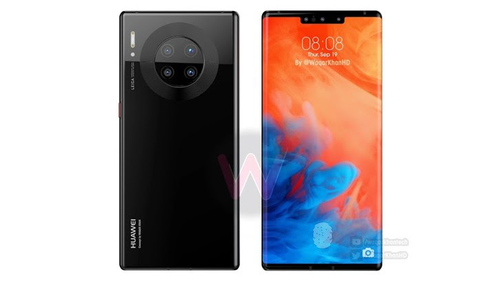 Image result for mate 30 pro face id