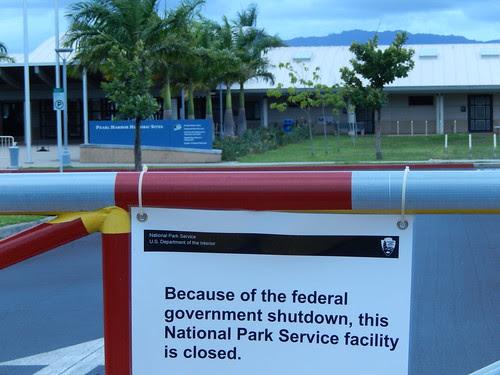Federal shutdown