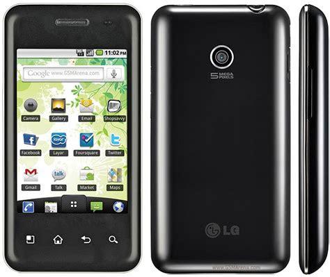 mobile view lg optimus chic