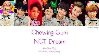 nct dream chewing gum color coded lyrics han