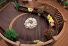 Deck with Planters and Benches | Contractor in MA