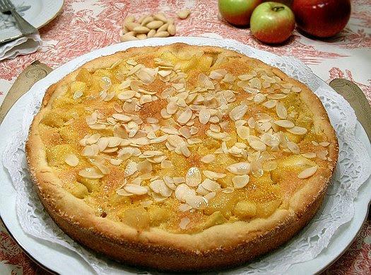 Crostata di mele e mandorle di Adriano