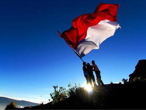 Galeri Gambar Bendera Merah Putih Indonesia  Alfido.com