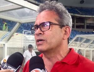 Hermano Morais presidente do América-RN (Foto: Diego Simonetti/Blog do Major)