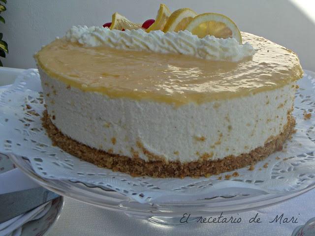 tarta de queso al limón 7