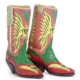 Nudie Taylor boots: $21,250