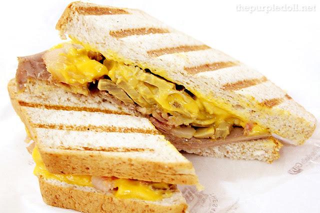 Mushy Bacon Sandwich P100