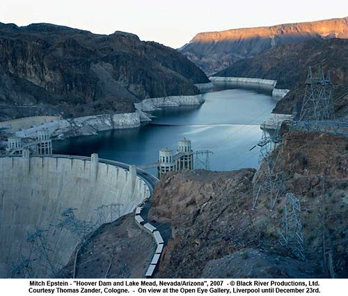 """Mitch Epstein - """"Hoover Dam and Lake Mead, Nevada/Arizona"""", 2007 by artimageslibrary"""
